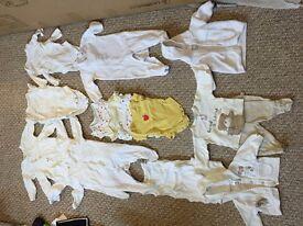 Bundle of unisex newborn clothes, in excellent condition