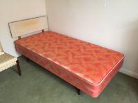 Single bed - headboard - no mattress