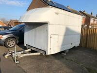 Large box trailer