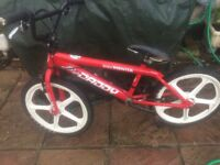 "BIG DADDY ROOSTER SKYWAY BMX BIKE HORNCHURCH ESSEX RM11 16"" inner 19"" with tyre"