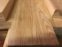 scaffold boards HALF SIZE timber planed, S4S smooth finished, finished 125x35, 4.5m