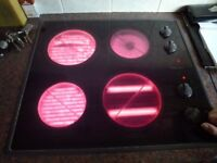 Hotpoint 6373 Ceramic hob - well used but full working order