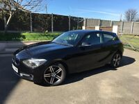 Bmw 1 series sports , 1 lady owner from new, low mileage,very clean car inside and out