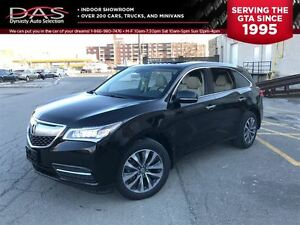 2015 Acura MDX Technology Package/Navigation/TV-DVD/Sunroof
