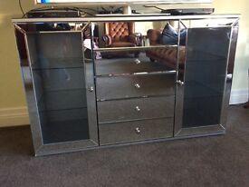 Mirrored Sideboard