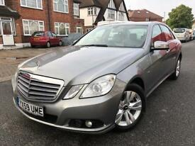 MERCEDES-BENZ E220 CDI BLUEEFFICIENCY AUTOMATIC With SAT NAV,BLUETOOTH PHONE,LEATHER