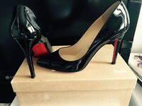 Christian louboutin pigalle heels 100mm