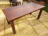 Sherry solid wood table great condition!