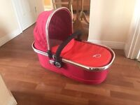 Icandy peach carry cot (like new)