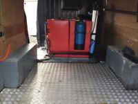 FORD TRANSIT TREND 500lt tank fitted by Brodex.RO & D I system ready for work very clean van .