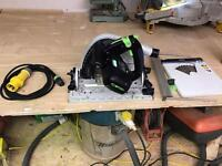 Festool ts75 plunge saw 110v for sale or swap for ts55