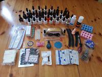 Gel Polish Starter *NEW* Kit with LED lamp, 42 gel polishes, chrome powder,remover kit
