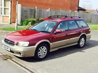 SUBARU LEGACY 2.5 PETROL AND LPG GAS +AUTOMATIC