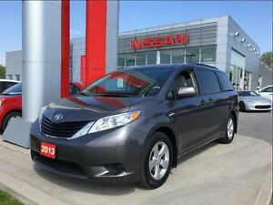 2013 Toyota Sienna LE, dual power side doors, upgrade audio