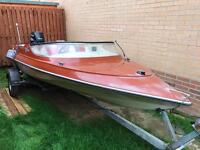 Speedboat - Simms Super V with Suzuki 4 Stroke