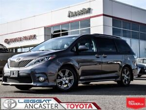 2017 Toyota Sienna SE TECHNOLOGY PACKAGE  !!