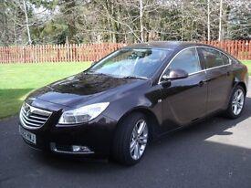 Vauxhall Insignia Hatchback 1.9 cdti Exclusive 62 reg.