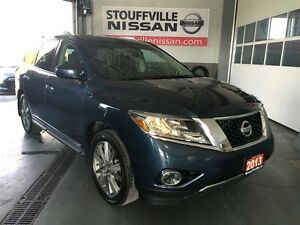 Nissan Pathfinder platinum loaded dvd, nav, nissan cpo rates fro