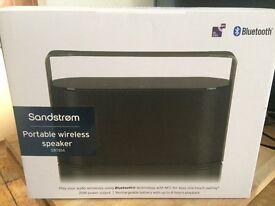 Sandstrom SBTB14 Portable Wireless Speaker – 20 W, 8 hour battery life, Black - Used