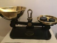 """''The Viking"""" cast iron scales"""