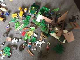 HUGE collection of Playmobil