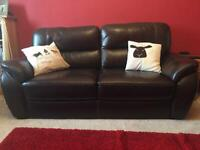 Fantastic leather sofas for sale