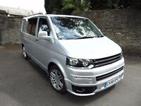 VW T5 CAMPERVAN, BRAND NEW CONVERSION, 113K, SUPERB CONDITION, READY FOR ADVENTURES