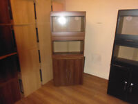 brand new 2x 2ft vivariums and cabinet in opra wallnut
