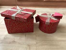 2 x Gift Boxes