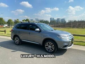 2016 Mitsubishi Outlander ZK XLS Wagon 5dr CVT 6sp 2WD 2.0i MY16 Grey Constant Variable Wagon Arncliffe Rockdale Area Preview
