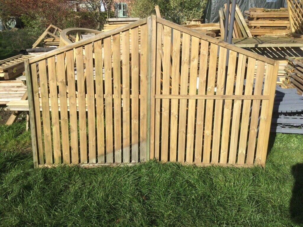 Decorative Fence Panels  Gates  Unused  Tanalised  Collect Today  | in  Tarporley, Cheshire | Gumtree
