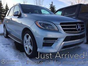2014 Mercedes-Benz ML350 BT 4MATIC Premium & Sport w/Drive Assis
