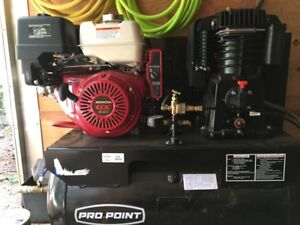 Truck mount air compressor
