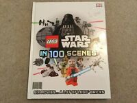 Lego Star Wars in 100 Scenes hardback book