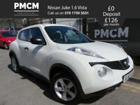 NISSAN JUKE 2010 1.6 VISIA 5 dr - LONG MOT - JUST SERVICED - 2 KEYS - qashqai kuga tiguan 2010