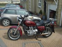 HONDA GL1100 GOLDWING - CLASSIC BIKE - INCLUDES DETACHABLE FAIRING, TOP BOX AND PANNIERS