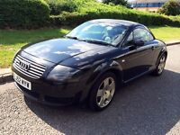 Audi TT 1.8 T Quattro 3dr, 225bhp, CAMBELT done, MOT May 2017, Good condition inside and out!
