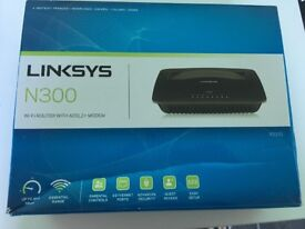 Linksys X1000 N300 Wireless Router with ADSL2+ Modem