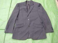 Charcoal Grey Brook Taverner Designer Men's Woolen Jacket for £5.00