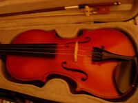 3/4 size Otto Jos Klier(1997) violin -plays beautifully, superb West German instrument