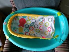 Fisher price rinse and grow baby bath