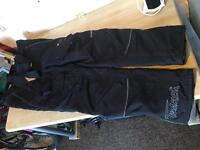 Motor cycle trousers size XXL