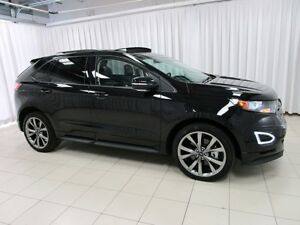 2017 Ford Edge SPORT AWD ECO-BOOST. FULLY LOADED SPORT SUV !! w/