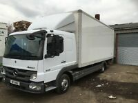 7 1/2 ton mercedes Sleeper Cab with tuck away tail lift 17000 +vat