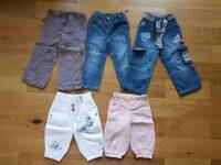 Girls 2-3 years Next Bundle of Trousers