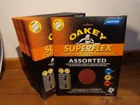 Oakey Superflex assorted Sandpaper Sheets