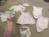 Baby girl bundle. Up to 1 Month and 0-3 month
