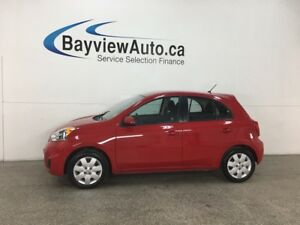 2015 Nissan Micra SV - 5SPD! BLUETOOTH! A/C! CRUISE! PWR GROUP!