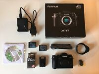 Fuji XT1 Digital SLR Camera Body & Accessories - Boxed in Excellent Condition!