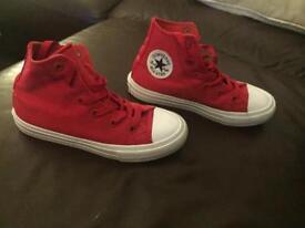 Kids Red Converse 12.5